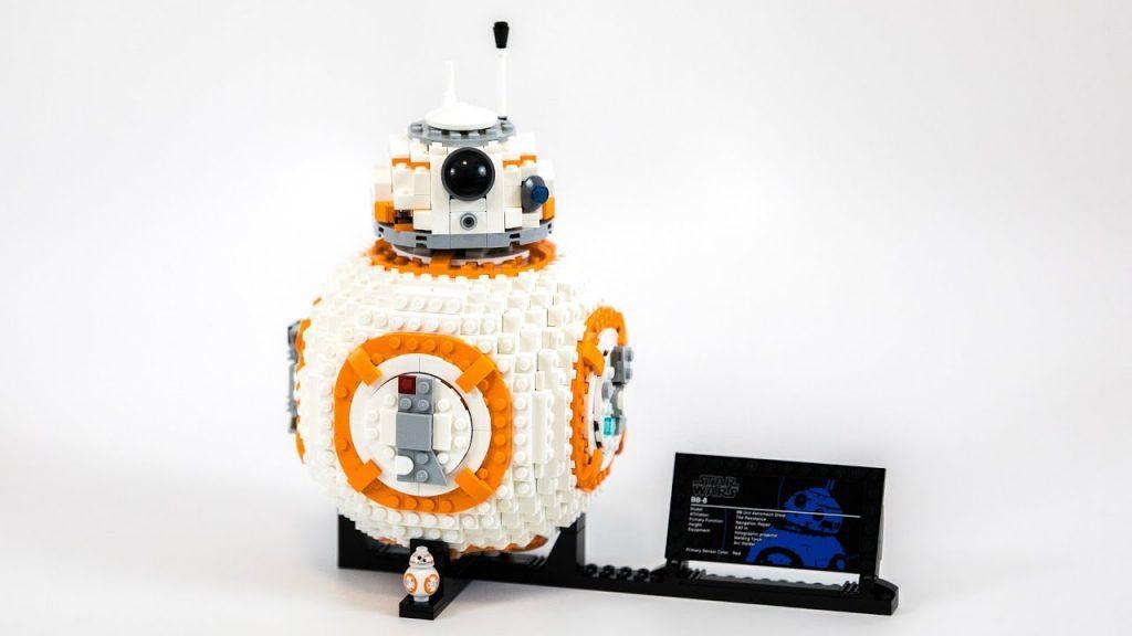 BB8 em Lego