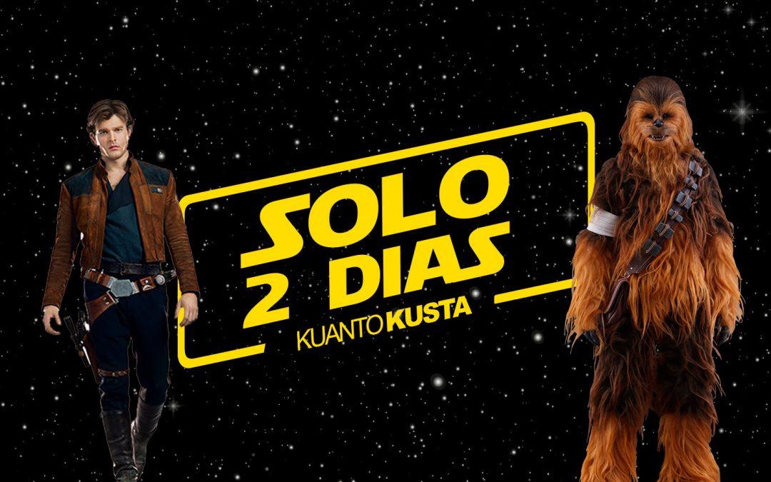 Solo dois dias para aumentares a tua coleção de Star Wars!