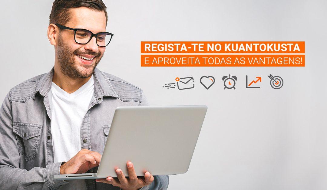 Área Pessoal do KuantoKusta: 5 vantagens para te registares agora