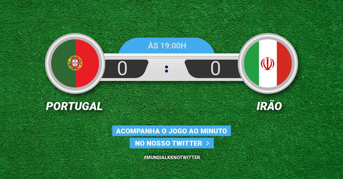 Mundial KK: Portugal vs. Irão