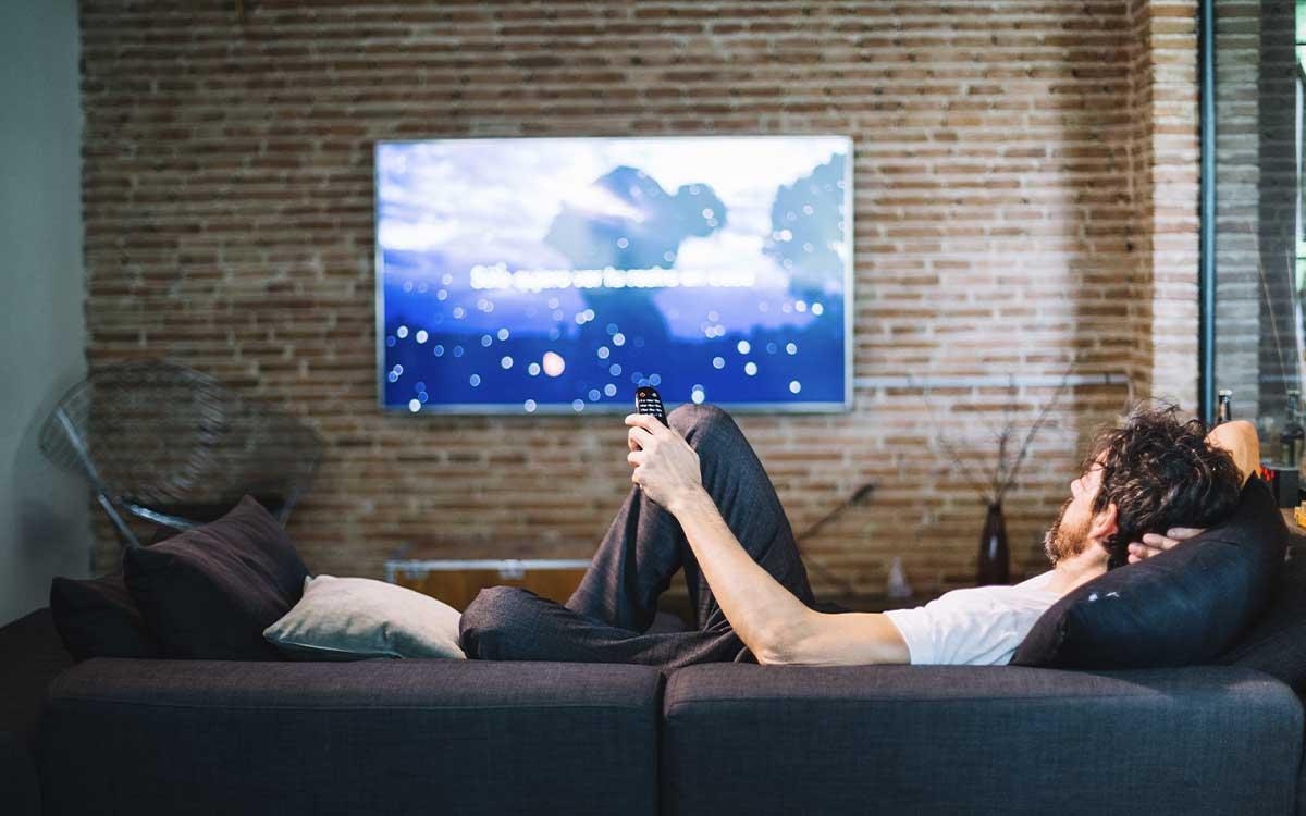 televisor na parede