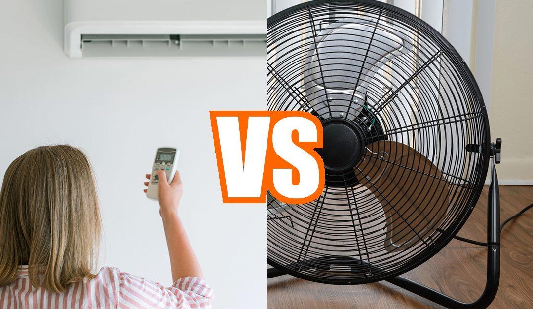 Ar condicionado vs. ventoinha: qual deles é o melhor para os dias de calor?