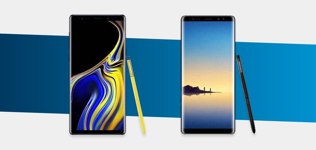 Galaxy Note 9 vs Galaxy Note 8: descobre as diferenças e qual deves comprar