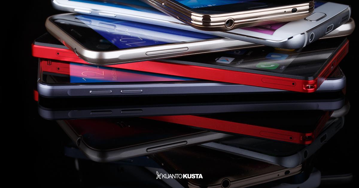 Os 10 smartphones mais pesquisados no KuantoKusta