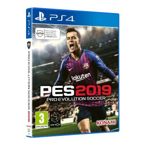 Jogo Pro Evolution Soccer 2019 PS4
