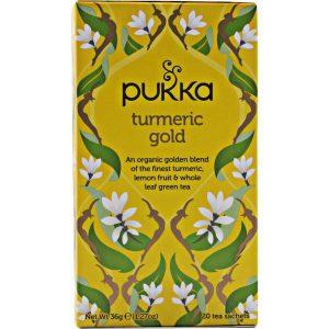 Pukka Chá Organic Turmeric Gold 20 saquetas