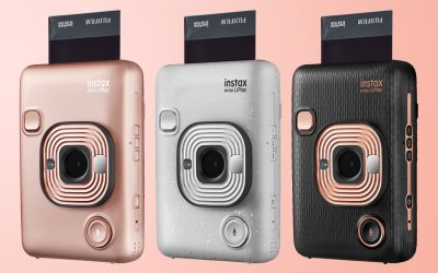 Fotos instantâneas: da Polaroid à Fujifilm Instax Mini Liplay
