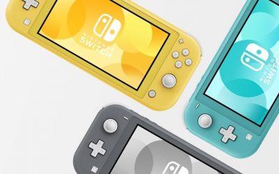Switch Lite – Nova vida da Switch em cores diversas