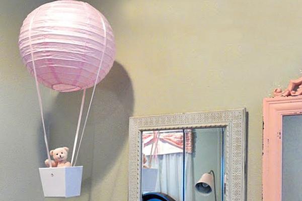 candeeiro de teto quarto de criança