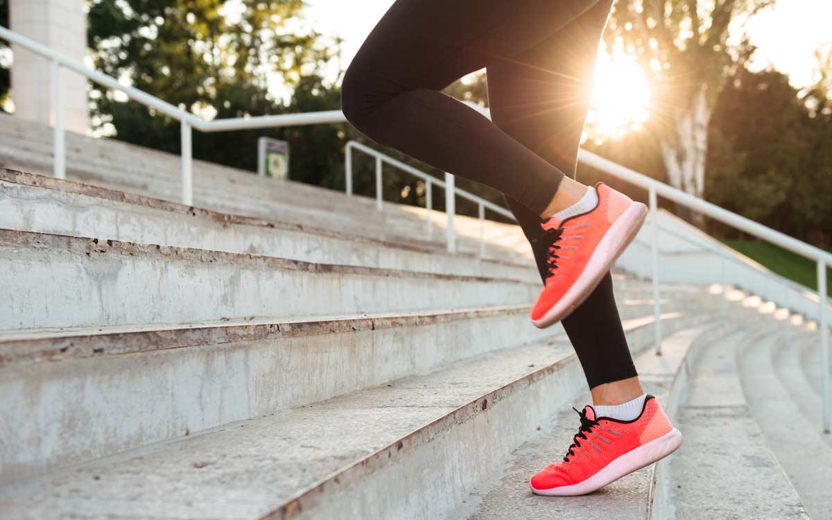 desporto a subir escadas