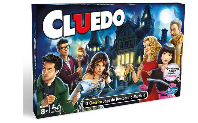 Jogo de tabuleiro e mistério Cluedo é ótimo para quem gosta de resolver mistérios.