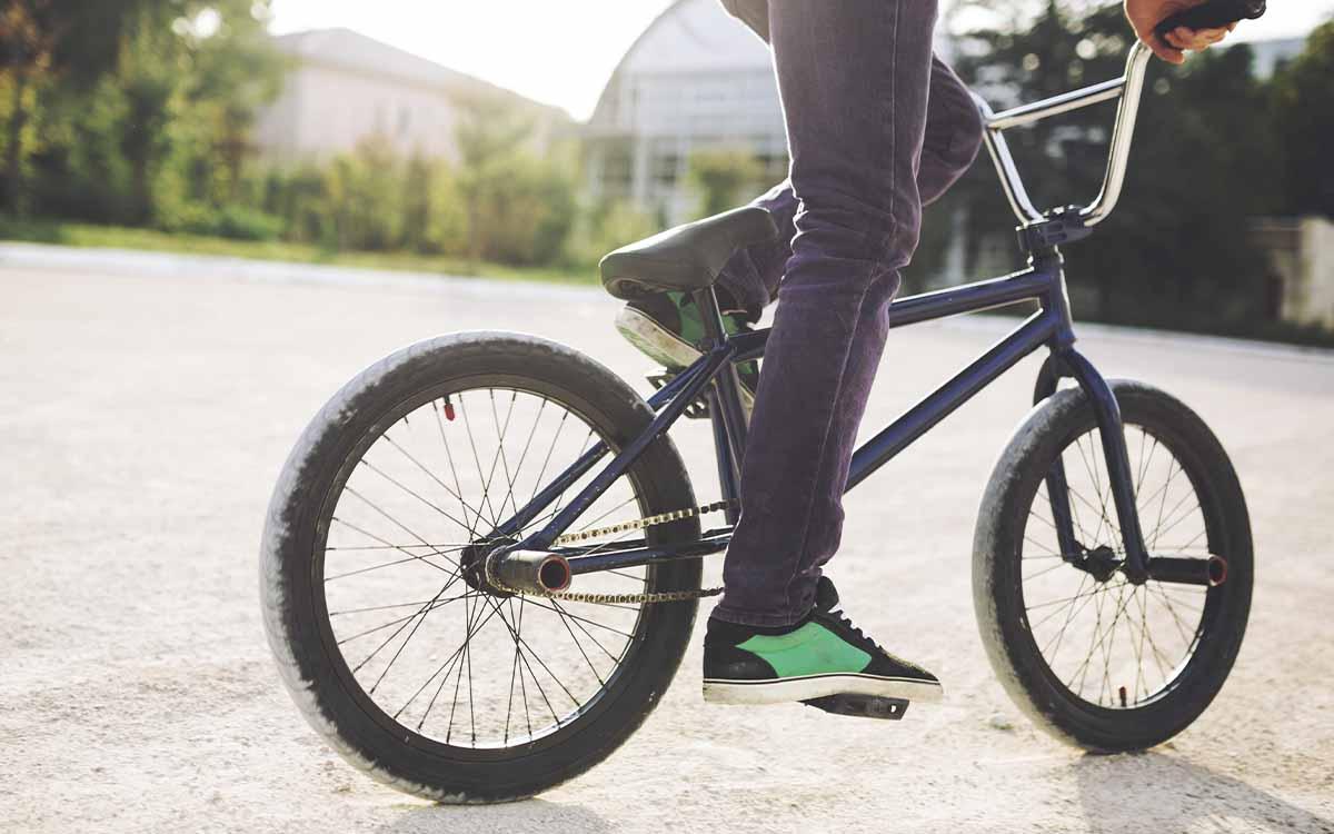 bicicleta para desporto bmx