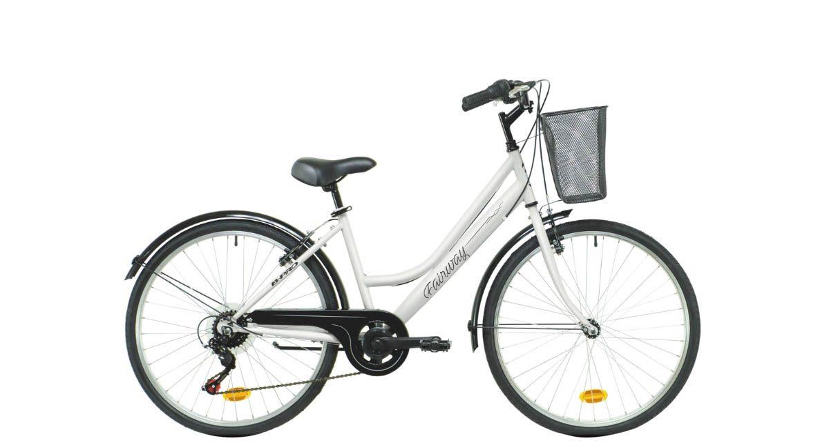 bicicleta par andar na cidade com cesto