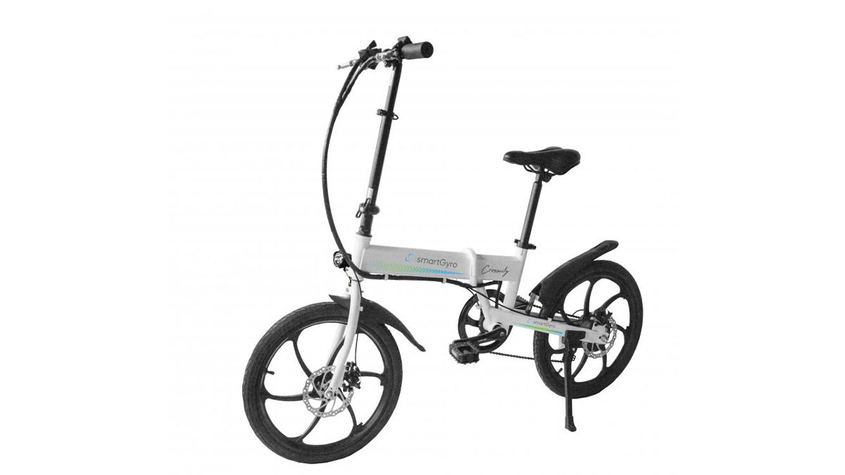 bicicleta dobrável para andar na cidade