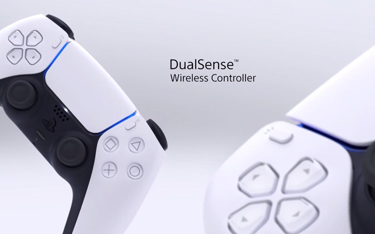 Comandos de jogo PS5 DualSense