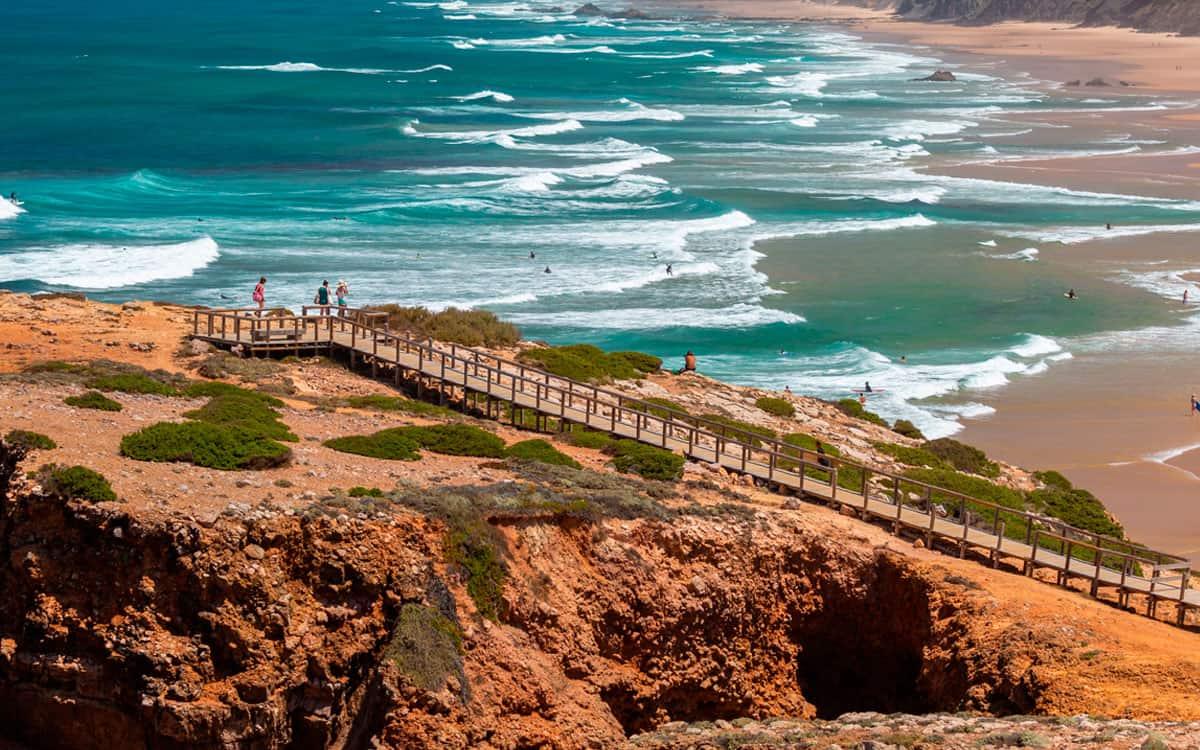 praia sul de portugal