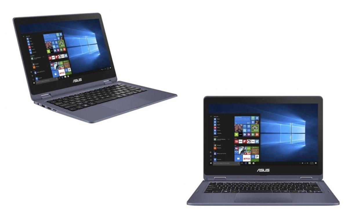 "Portátil Asus VivoBook Flip 12 TP202NA-EH012TS 11.6"" Táctil N4200 4GB 64GB eMMC"
