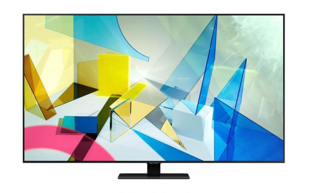 "TV Samsung 55"" Q80T QLED Smart TV 4K"