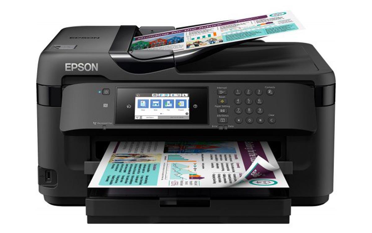 Impressora multifunções Epson Workforce WF-7710DWF