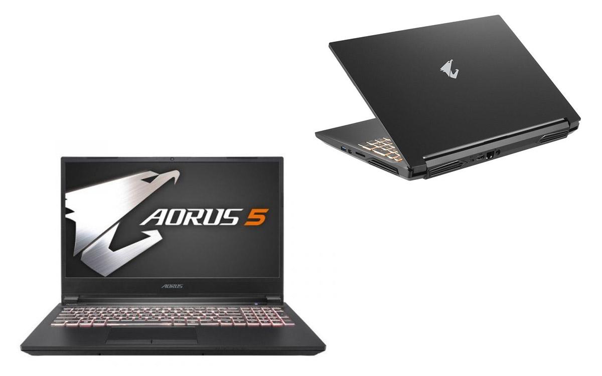 portátil gaming Aorus 5 MB-7PT1130SD