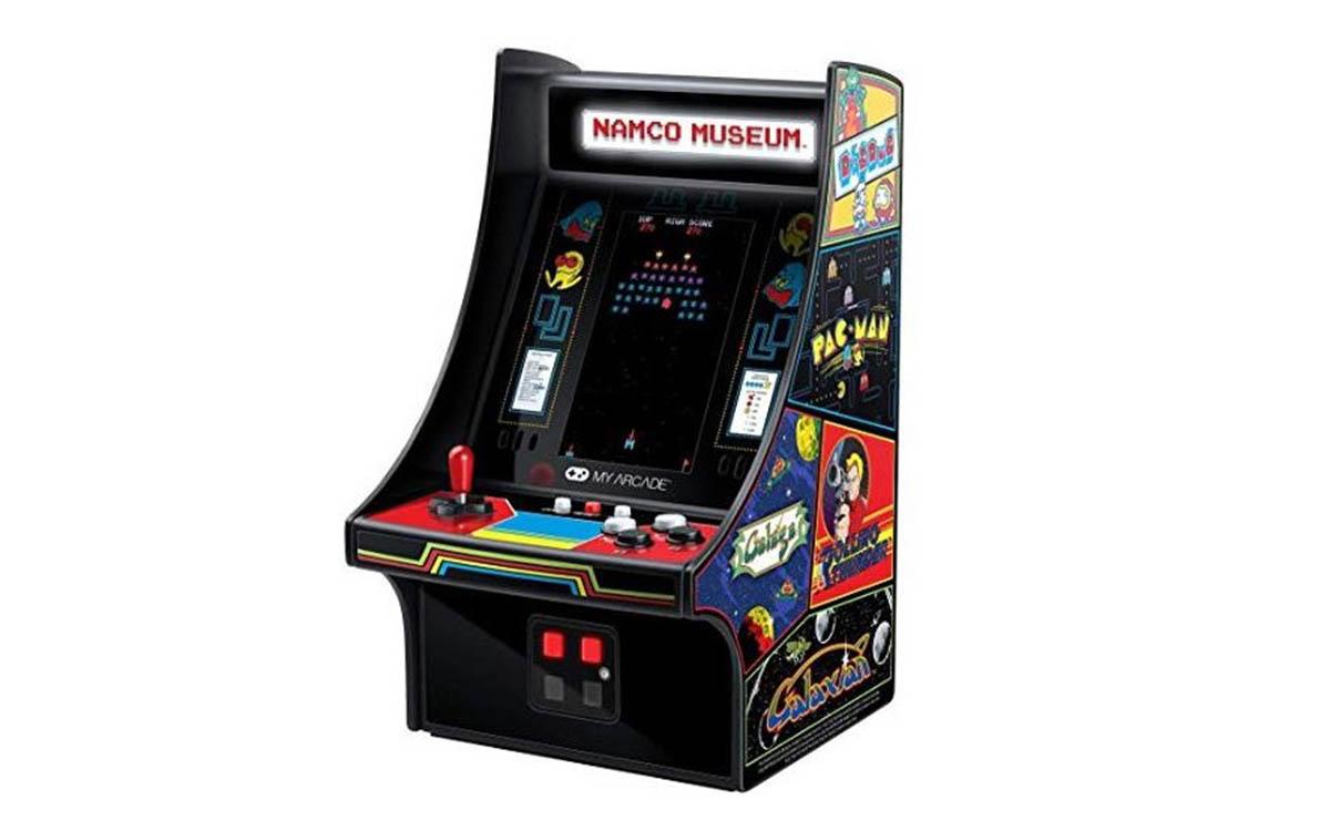 consola arcade miniatura