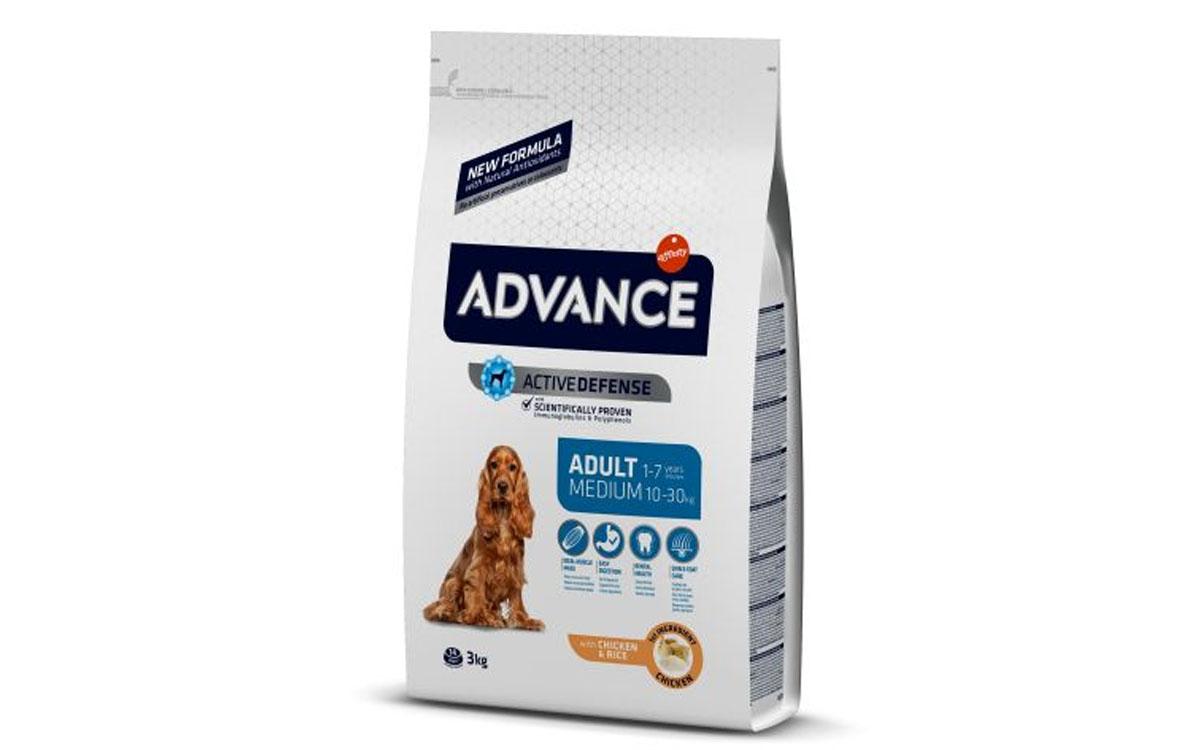 Ração Seca Advance Medium Adult Chicken & Rice 14Kg