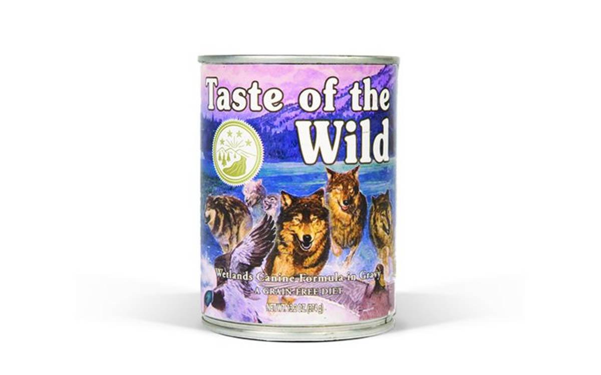Ração Húmida Taste of the Wild Wetlands