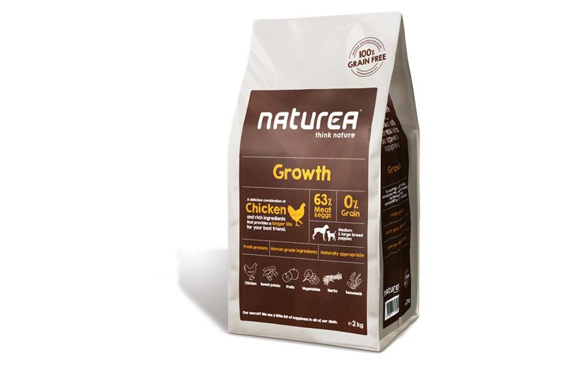 Ração Seca Naturea Growth Chicken 12Kg
