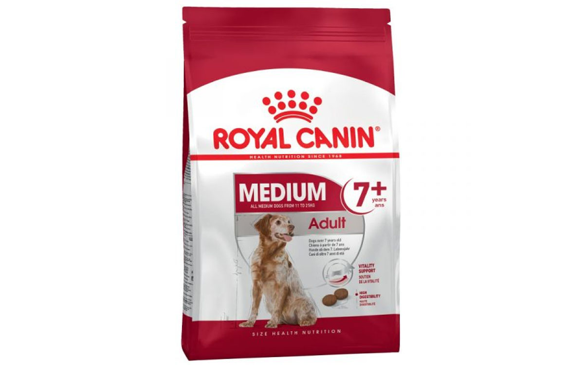 Ração Seca Royal Canin Medium Adult 7+ 15Kg